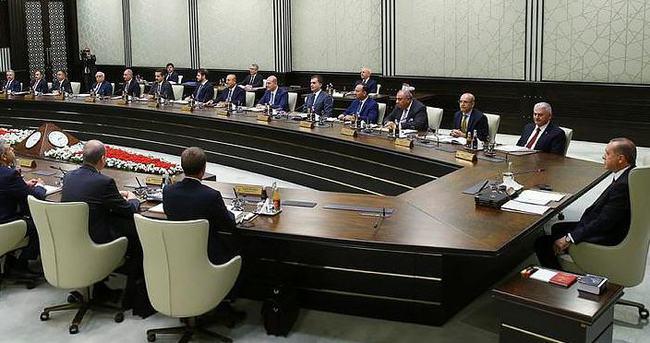 MGK bugün Erdoğan başkanlığında toplanıyor