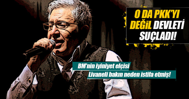"""Zülfü Livaneli, """"BM iyiniyet elçiliği""""nden istifa etti!"""