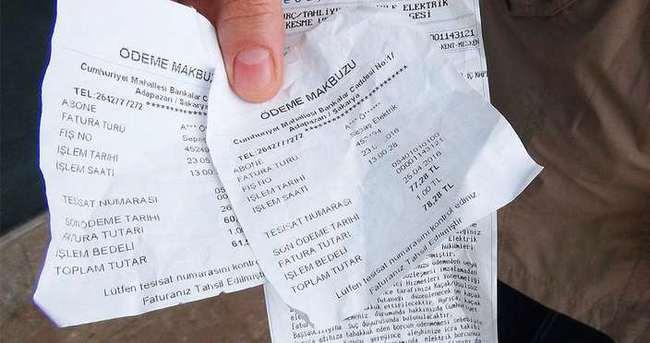 Topladığı fatura paralarıyla ortadan kayboldu