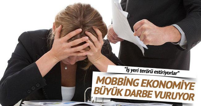 Mobbing ekonomiye büyük zarar veriyor