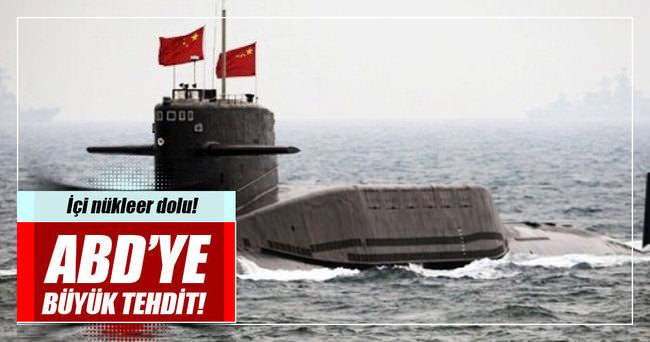 Çin Pasifik'e nükleer denizaltılar yolluyor
