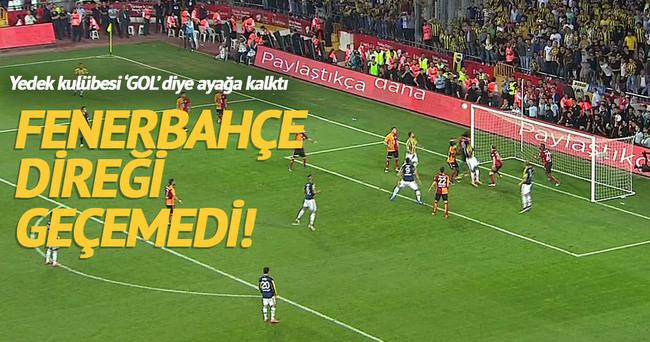 Fenerbahçe'de Ba direğe takıldı!