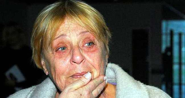 Denktaş'ın eşi hastaneye kaldırıldı