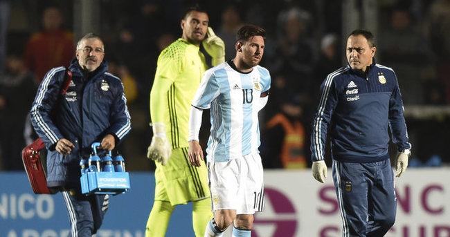 Copa America öncesi Arjantin'e Messi şoku!