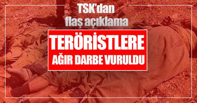 Mardin ve Şırnak'ta 21 terörist öldürüldü