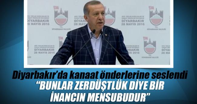Cumhurbaşkanı Erdoğan: Bunlar üst aklın verdiği talimatla hareket ediyor