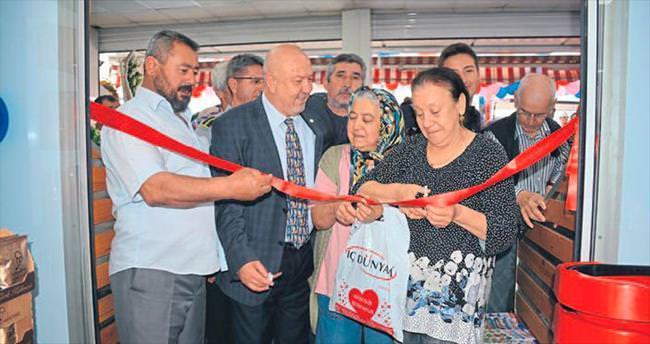 Alternatif Market 4. mağazasını Altındağ'da açtı