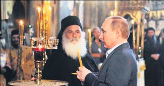 Putin Aynoroz'da