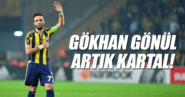 Gökhan Gönül artık Beşiktaş'ta!