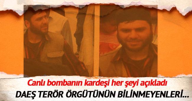 Canlı bombanın kardeşinden kan donduran ifade