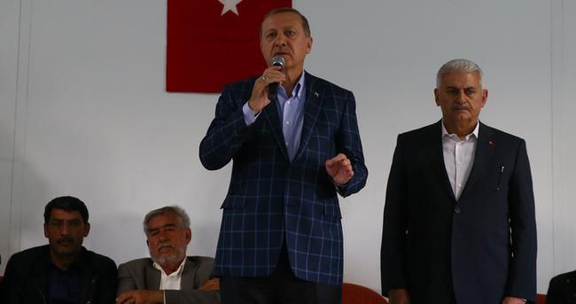 Erdoğan ve Yıldırım yarın İzmir'de