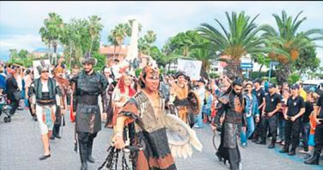 Alanya'da festival coşkusu başladı