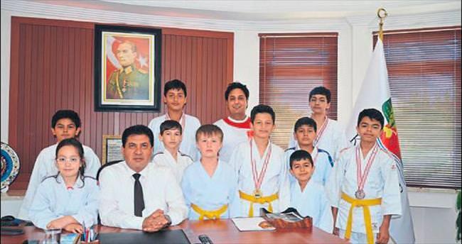 Judocuların ziyareti