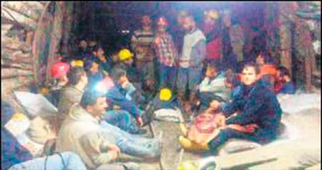 Maden işçilerinin eylemi 11'inci günde sona erdi