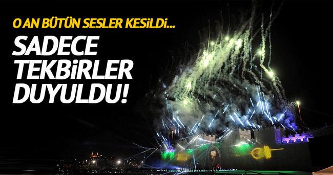 İstanbul'dan bir Fetih rüzgarı geçti!