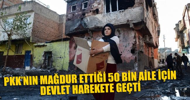 Terör mağduru 50 bin aileye ramazan yardımı yapılacak