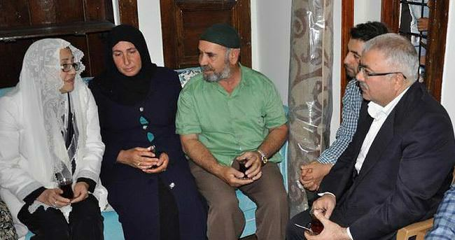 Şehit üsteğmenin restore edilen evi ailesine teslim edildi