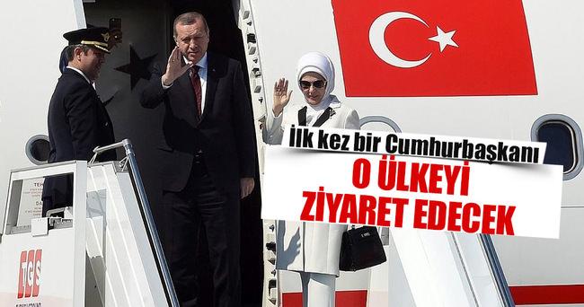 İlk kez bir Cumhurbaşkanı o ülkeyi ziyaret gidecek