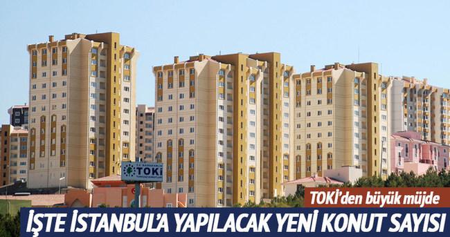 İstanbul'a 25 bin konut üreteceğiz