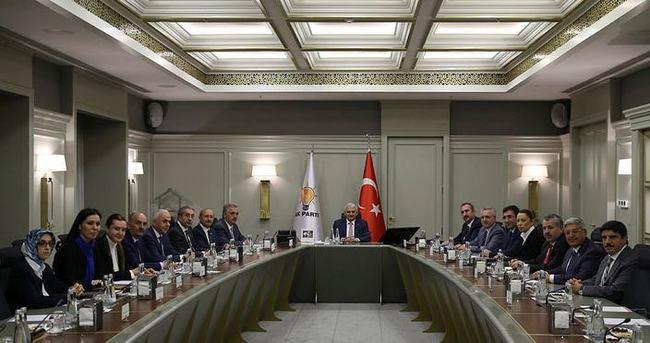 AK Parti MYK toplantısı bitti