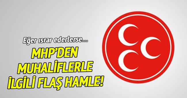 MHP'de '19 Haziran' krizi!