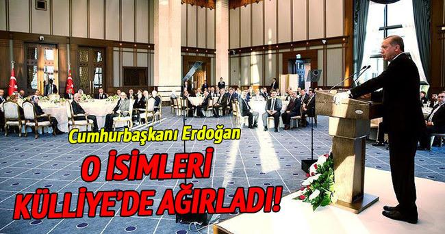 Cumhurbaşkanı Erdoğan Sayıştay üyeleriyle bir araya geldi