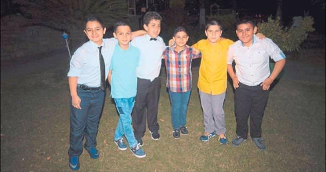 Ortaokullu öğrenciler yıl sonunda buluştu