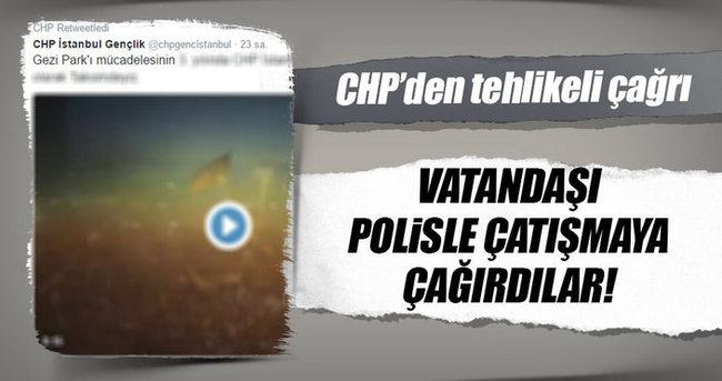 CHP'nin Gezi provokasyonu devam ediyor