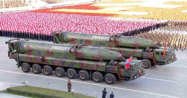 K.Kore'nin orta menzilli füze denemesi başarısızlıkla sonuçlandı