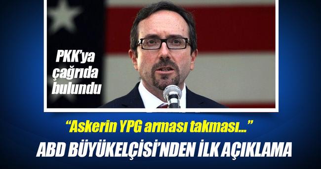 ABD Büyükelçisi Bass'tan YPG ve PKK açıklaması