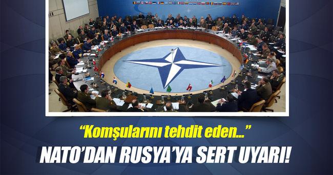NATO Genel Sekreteri Stoltenberg: Komşularını tehdit eden iddialı Rusya'yı görüyoruz