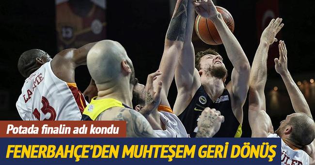 Galatasaray Odeabank-Fenerbahçe maç sonucu