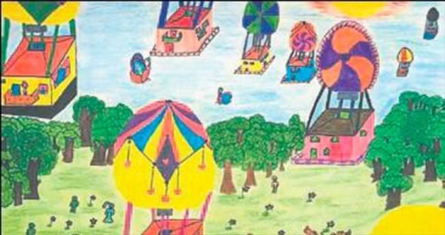 7 ülkenin çocukları hayallerini çizdi