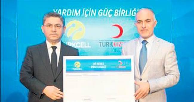 Turkcell'den Kızılay'a 5 milyon lira