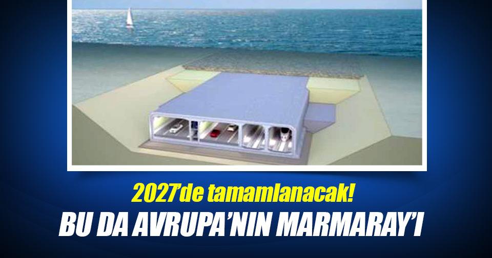 Bu da Avrupa'nın Marmaray'ı