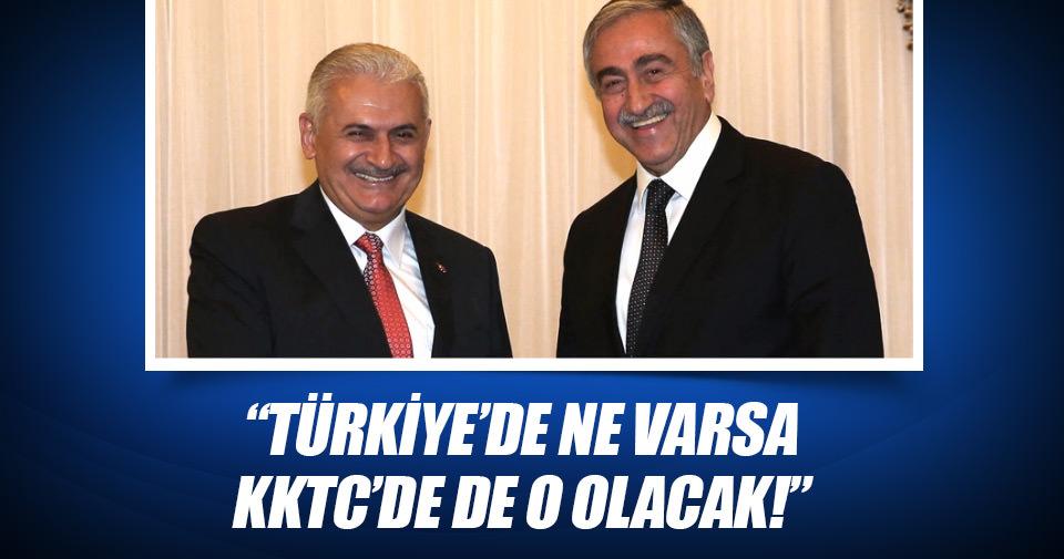 Türkiye'de ne varsa KKTC'de de o olacak