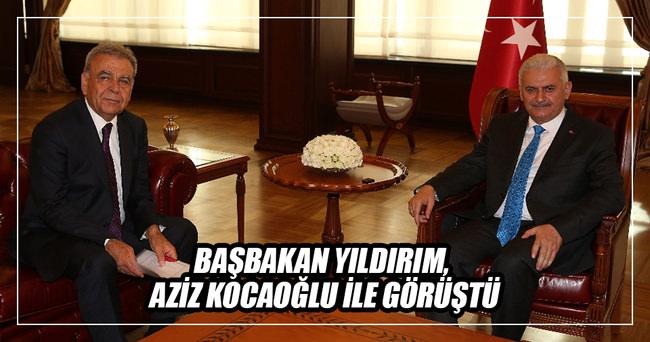 Başbakan Binali Yıldırım, Aziz Kocaoğlu ile görüştü