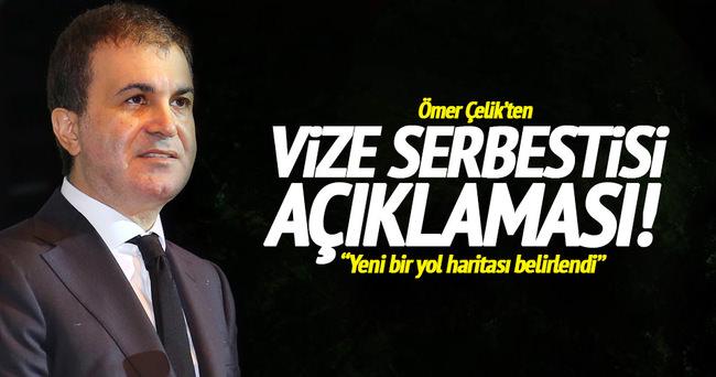 Ömer Çelik'ten vize serbestisi açıklaması