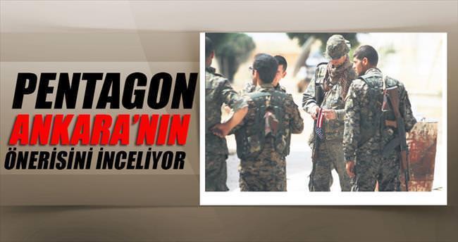 Pentagon: Ankara'nın önerisini inceliyoruz