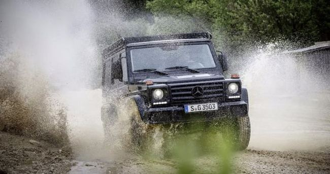 Mercedes'in arazi canavarı ortaya çıktı