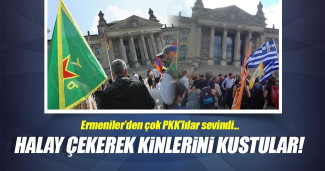 Ermenilerden çok PKK'lılar sevindi!