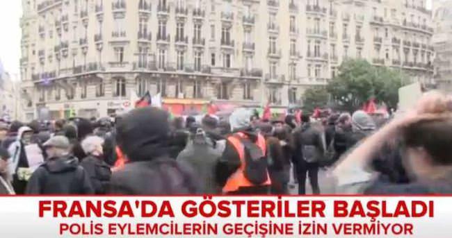Fransa'da grev ve protestolar devam ediyor