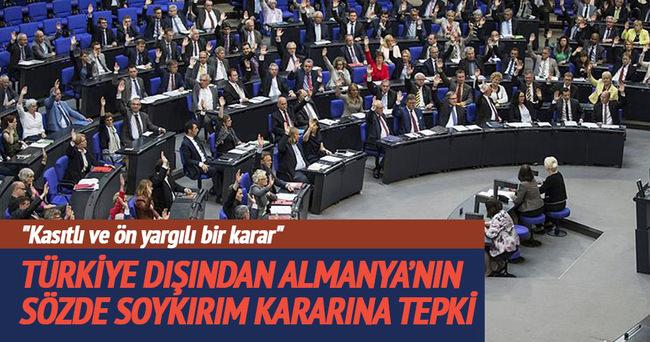 Azerbaycan'dan Almanya'ya tepki Türkiye'ye destek