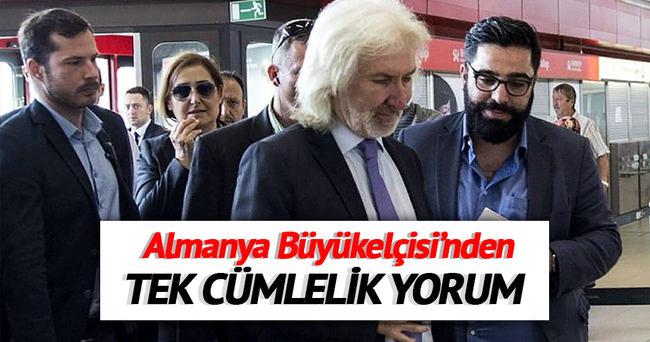 Büyükelçi Karslıoğlu: Hep beraber izledik