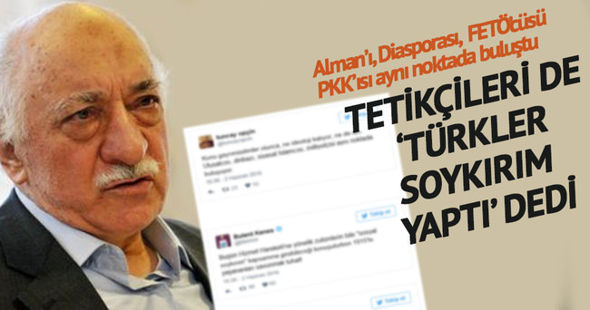 Gülen'in tetikçileri de 'Türkler soykırım yaptı' dedi