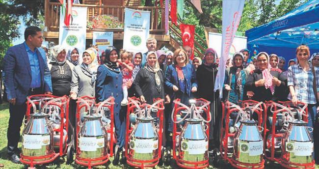 Kadın çiftçilere teknolojik destek