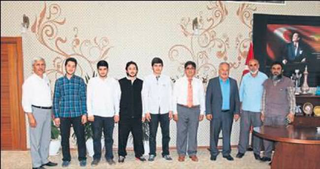 Aksulu öğrenciler Türkiye birincisi