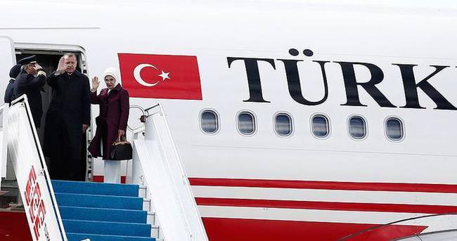 Cumhurbaşkanı Erdoğan Somali'ye gitti