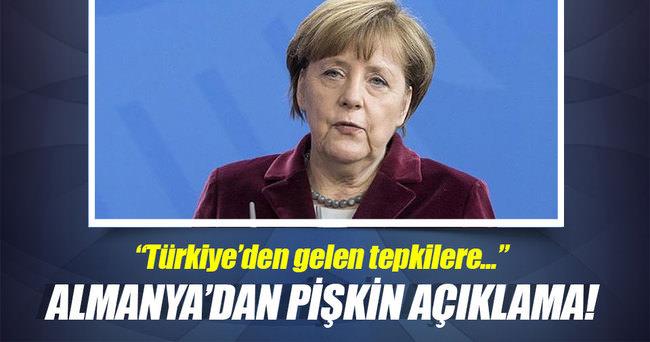 Merkel'in sözcüsünden 'Türkiye' açıklaması