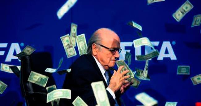 Blatter'den kendisine prim 80 milyon $